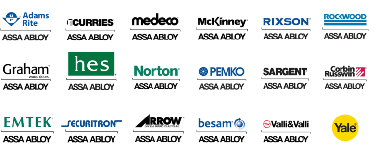 Assa Abloy brands available from Karis Lock