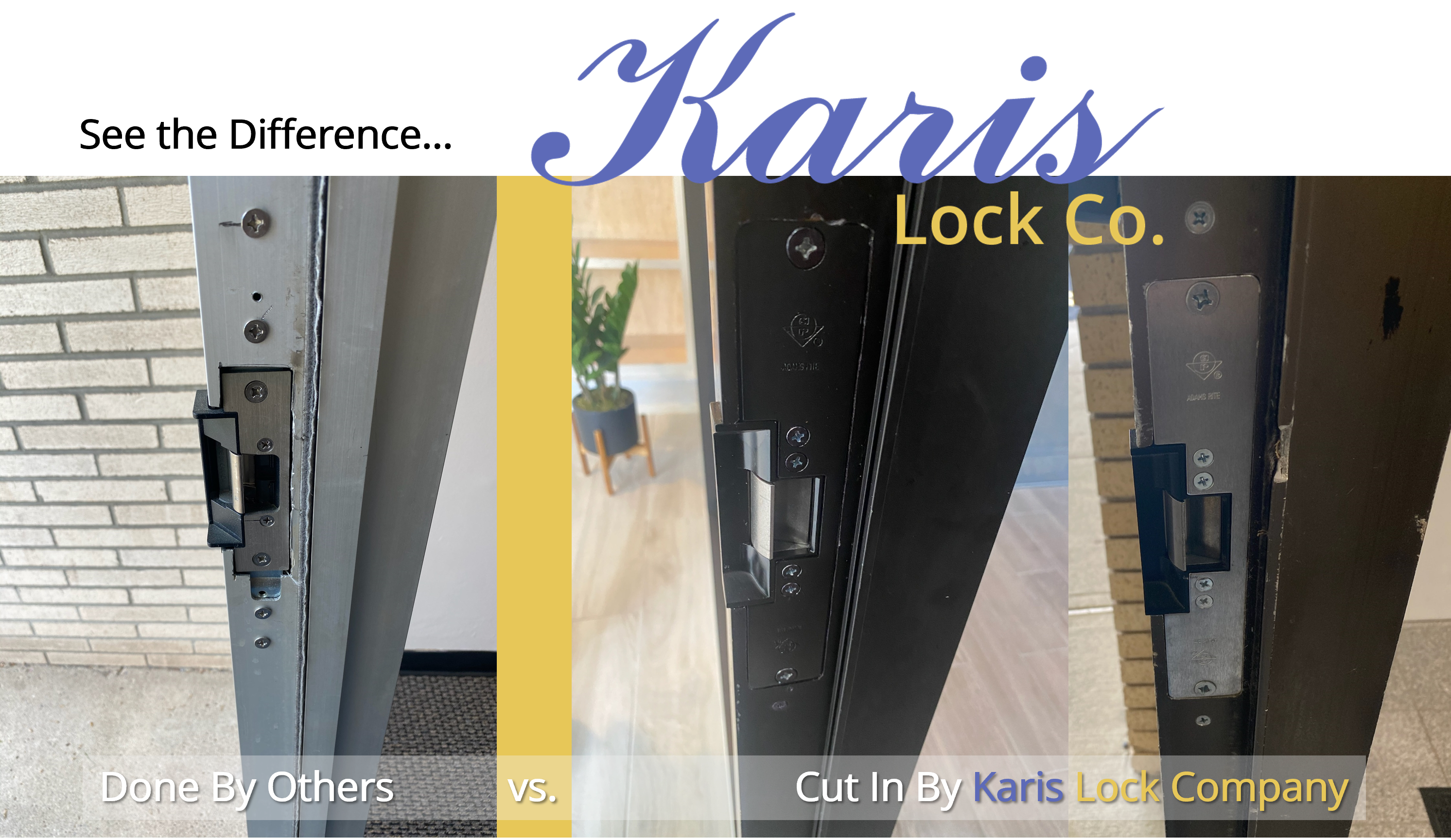 Karis Lock - What Makes Us Different - Attention to Detail and Quality Locksmith Services